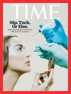 Plastic Surgery Makes Time Magazine