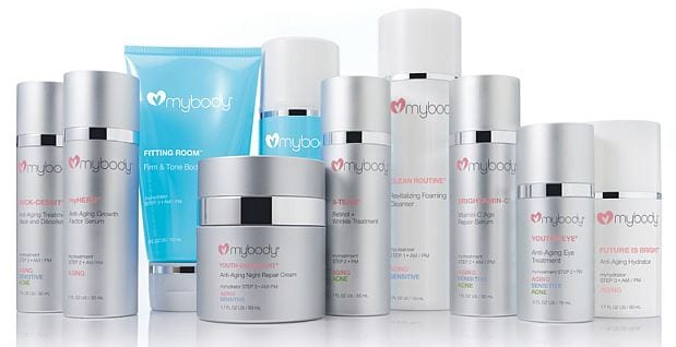 mybody skincare products